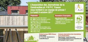 voyage presse PEFC et AJC